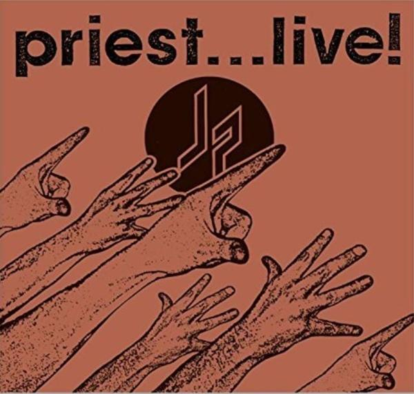 Priest... Live on Judas Priest bändin vinyyli LP.