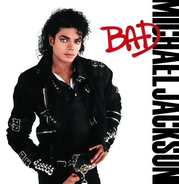 Bad on Michael Jackson artistin vinyyli LP.