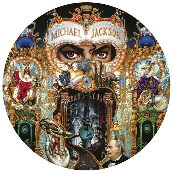 Dangerous on Michael Jackson artistin vinyyli LP.