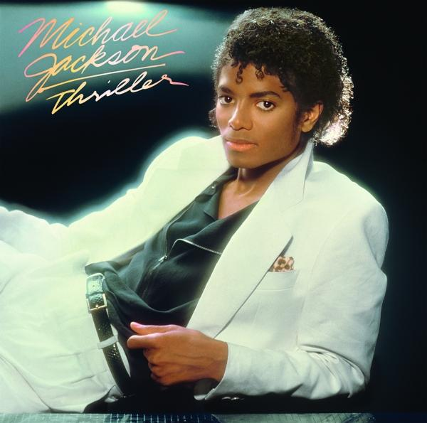 Thriller on Michael Jackson artistin vinyyli LP.