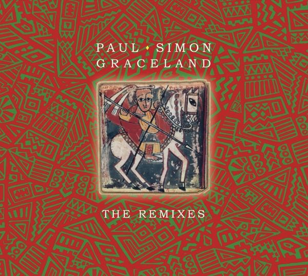 Graceland - The Remixes on Paul Simon artistin vinyyli LP.