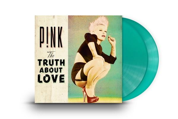 The Truth About Love on Pink artistin vinyyli LP.