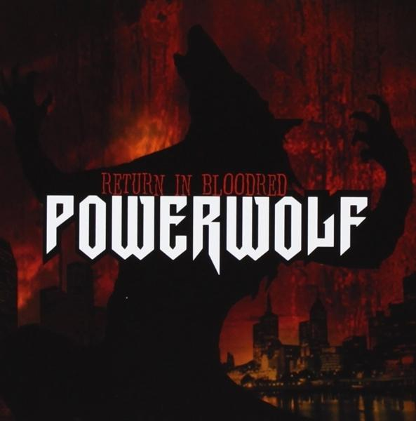 Return In Bloodred on Powerwolf ‎bändin vinyyli LP.