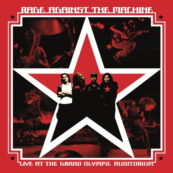 Live At The Grand Olympic Auditorium on Rage Against The Machine bändin vinyyli LP.