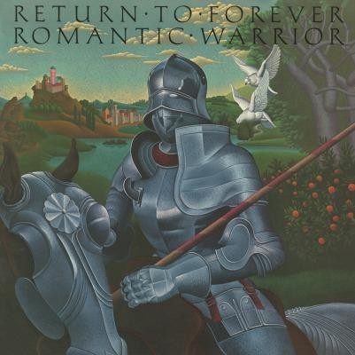 Romantic Warrior on Return To Forever yhtyeen LP-levy.