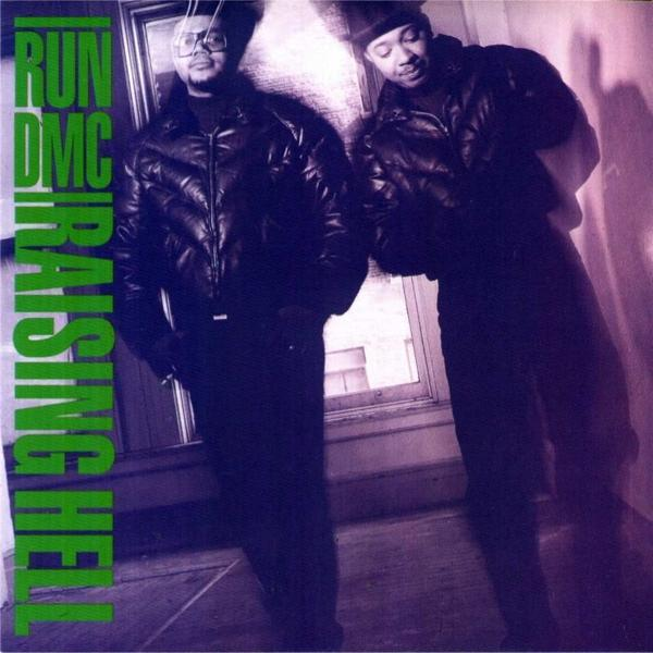Raising Hell on Run DMC bändin vinyyli LP.