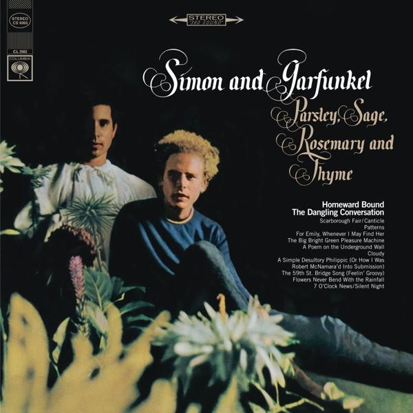 Parsley Sage Rosemary & Thyme on Simon & Garfunkel bändin vinyyli LP.