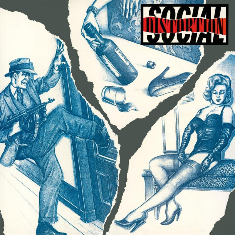 Social Distortion on Social Distortion yhtyeen LP-levy.