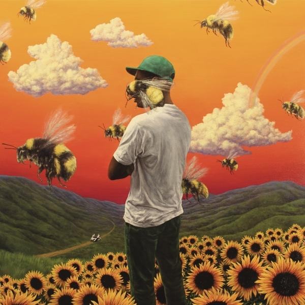 Flower Boy on The Creator Tyler artistin vinyyli LP.