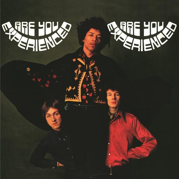 Are You Experienced on The Jimi Hendrix Experience ‎bändin vinyyli LP.
