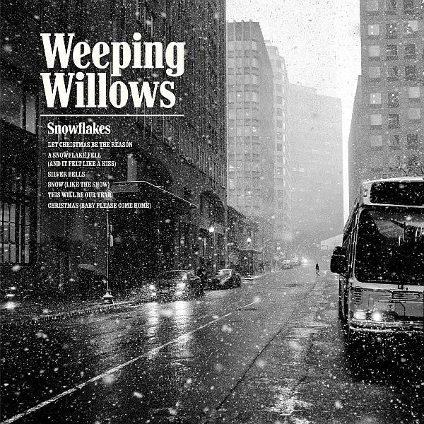 Snowflakes on Weeping Willows ‎bändin vinyyli LP.
