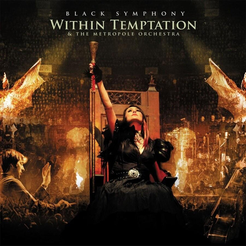 Black Symphony on Within Temptation yhtyeen LP-levy