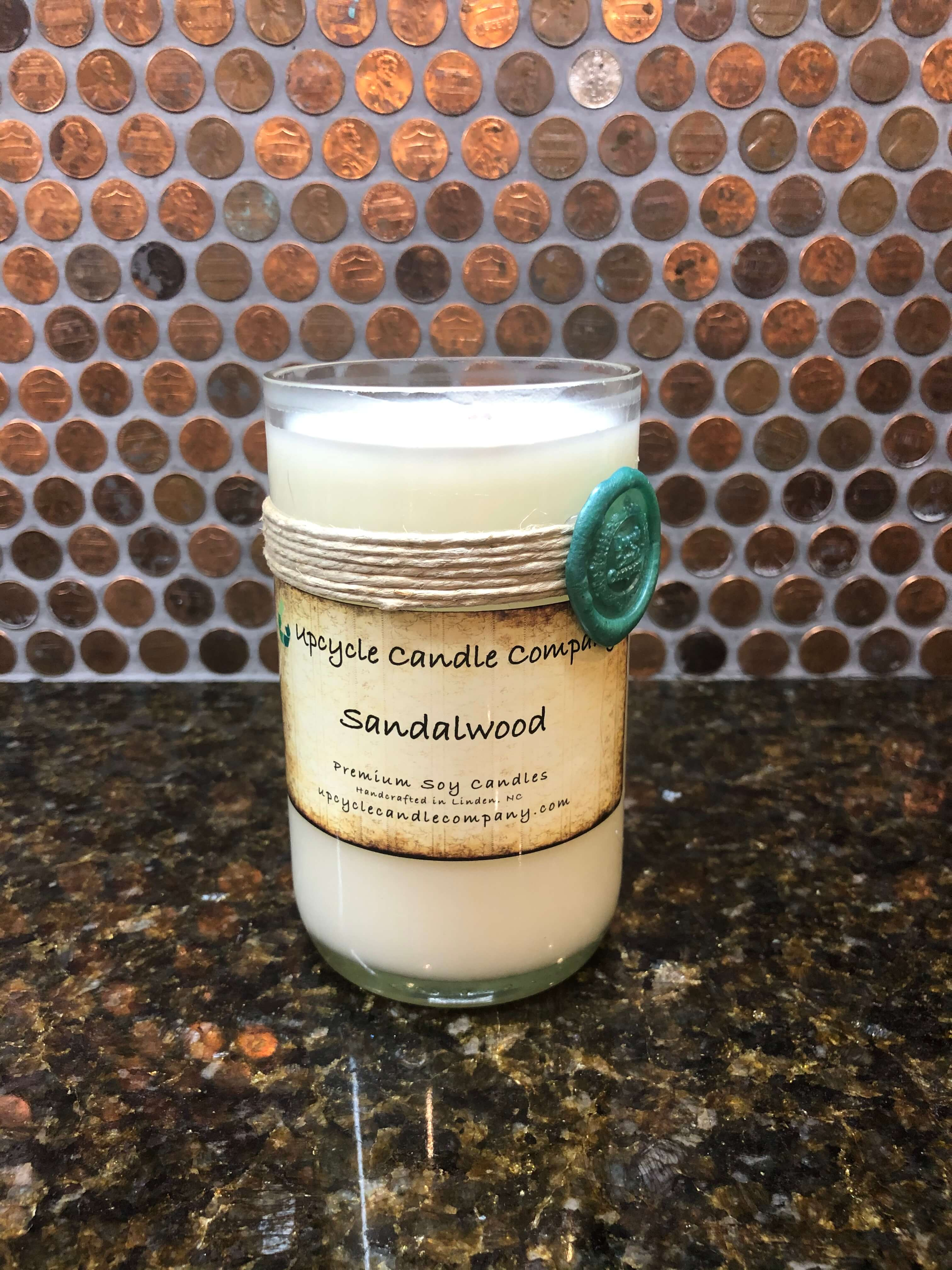 Sandalwood Natural Soy Candle