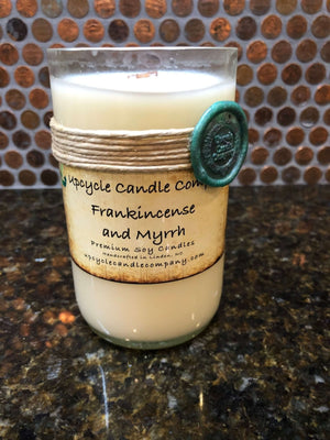 Frankincense and Myrrh Natural Soy Candle