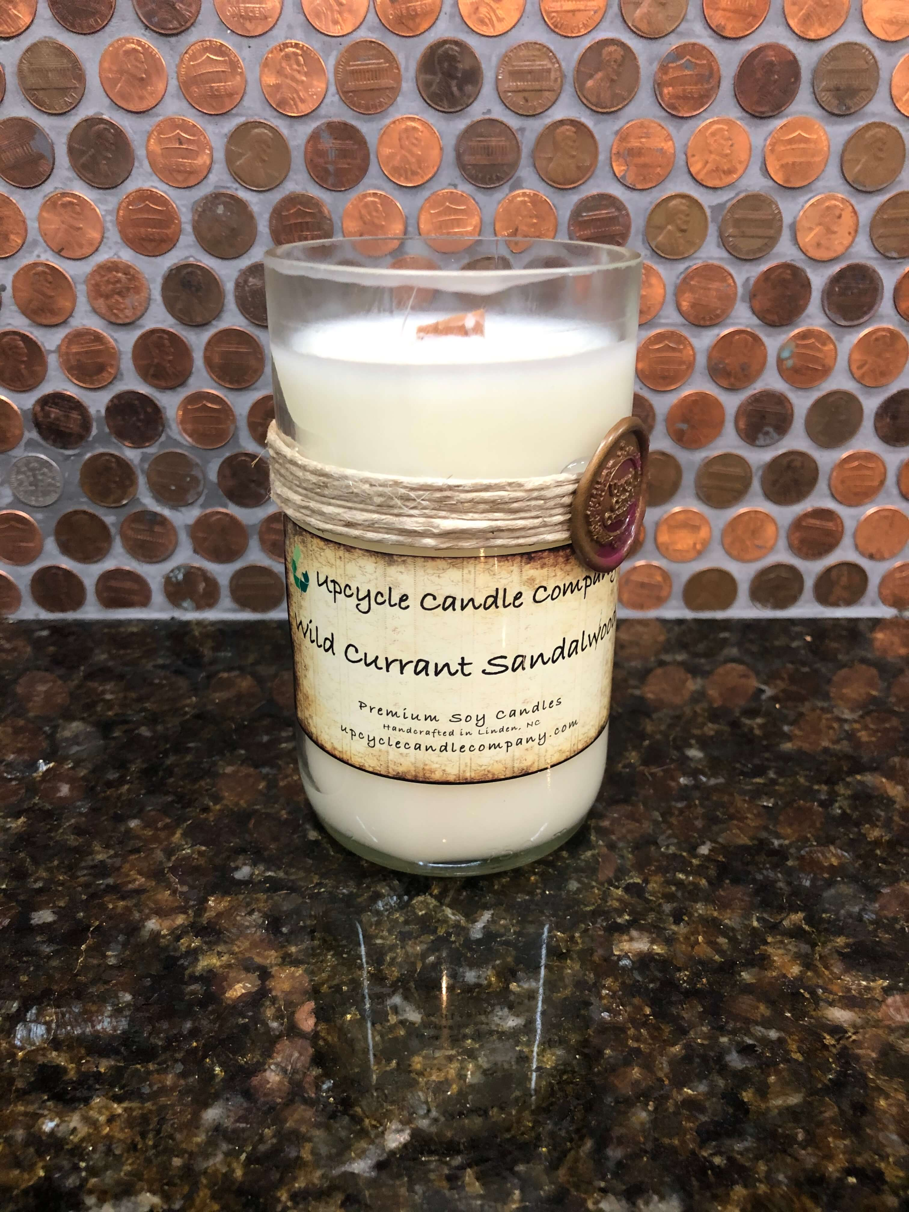 Wild Currant Sandalwood Natural Soy Candle