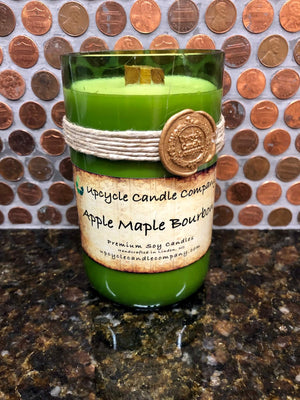 Apple Maple Bourbon Natural Soy Candle