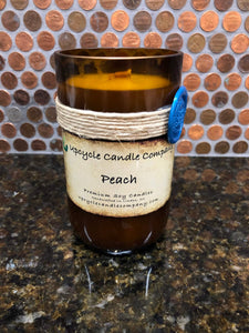 Peach Natural Soy Candle