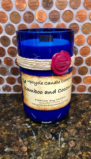 Bamboo and Coconut Natural Soy Candle