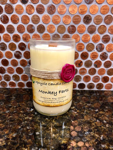 Monkey Farts Natural Soy Candle