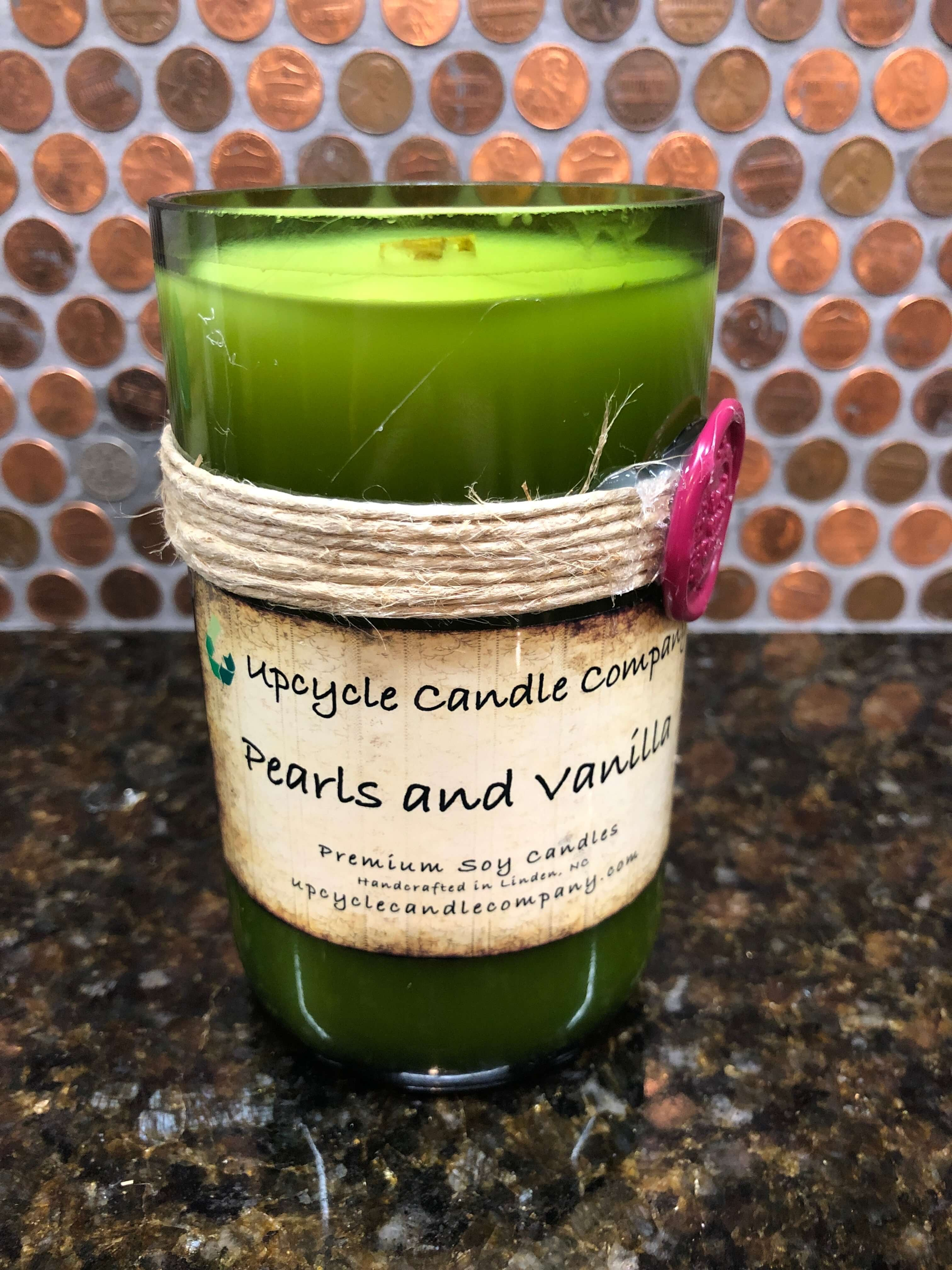 Pearls and Vanilla Natural Soy Candle