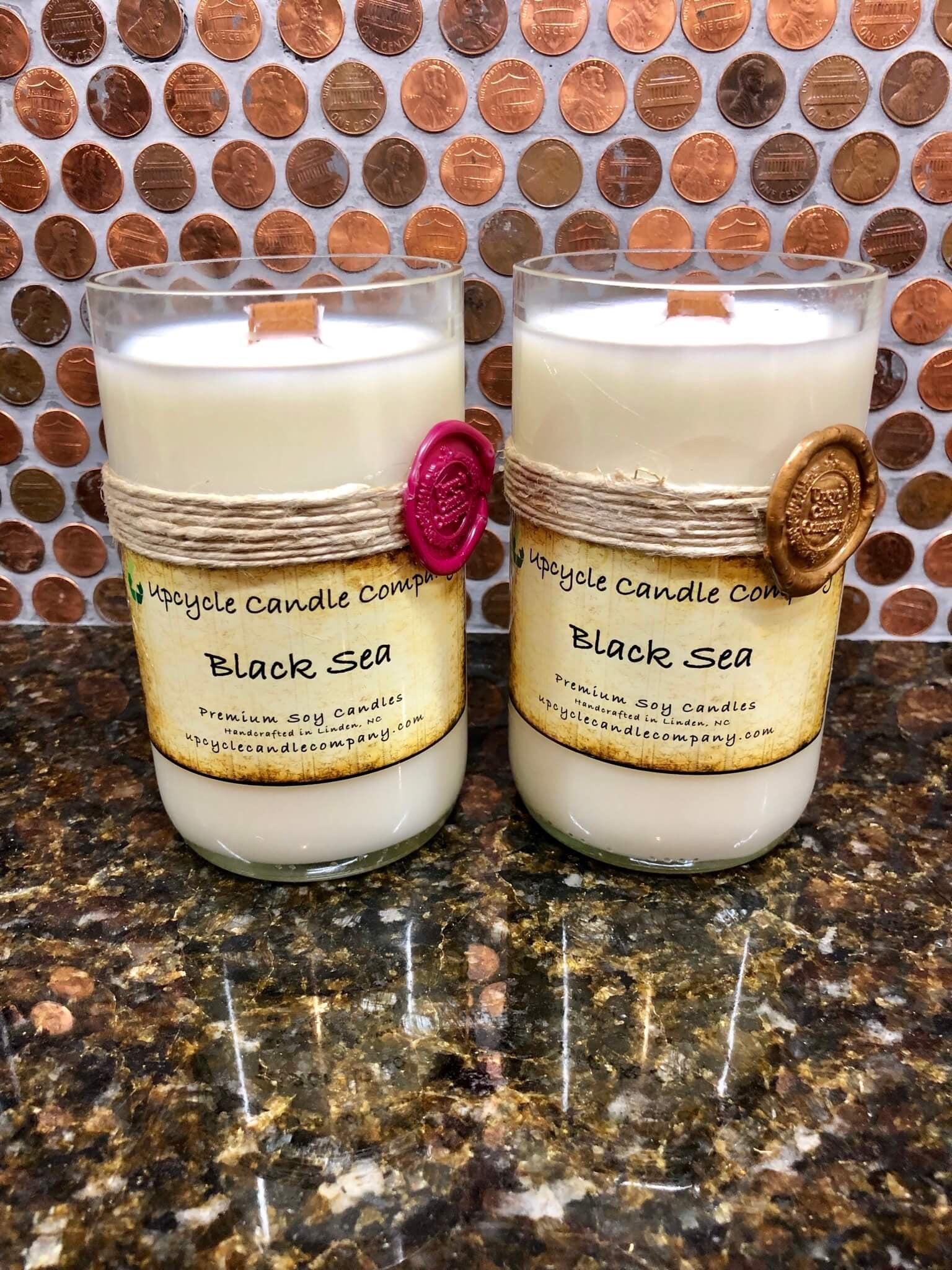 Black Sea Natural Soy Candle