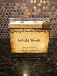 White Birch Natural Soy Candle, 4 wick
