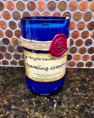 Sparkling Grapefruit Natural Soy Candle