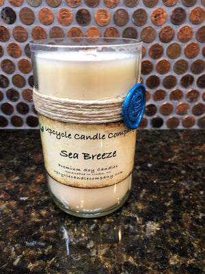 Sea Breeze Natural Soy Candle