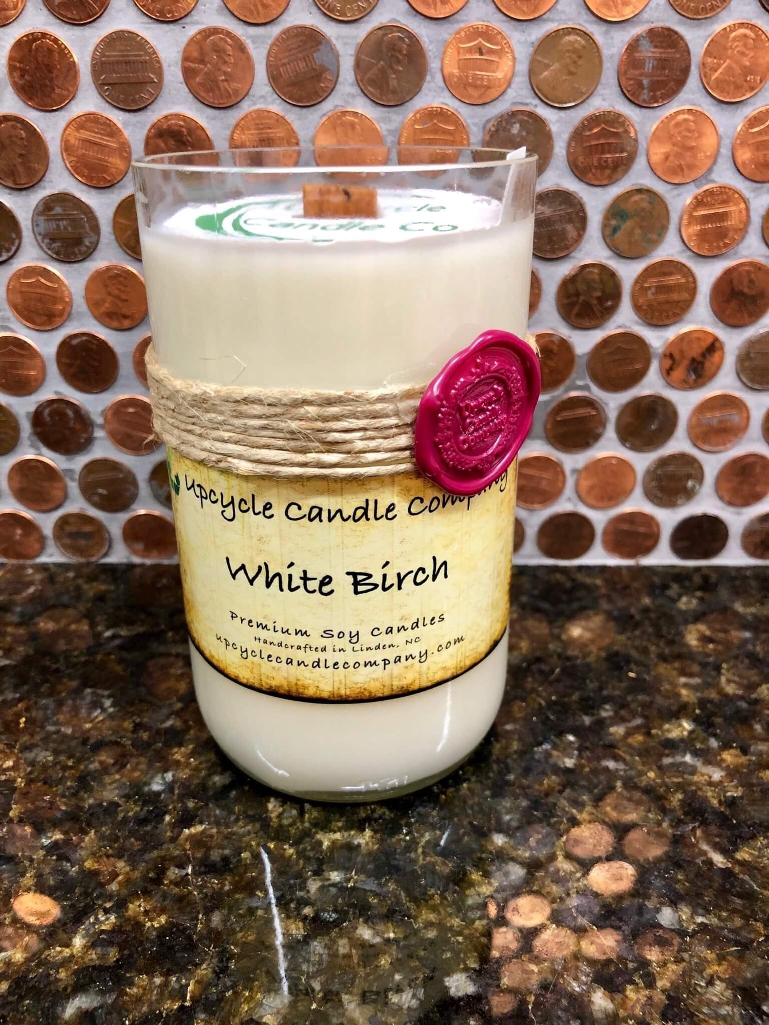 White Birch Natural Soy Candle