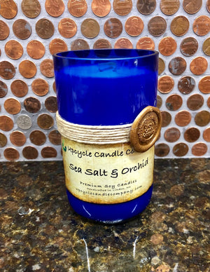 Sea Salt and Orchid Natural Soy Candle
