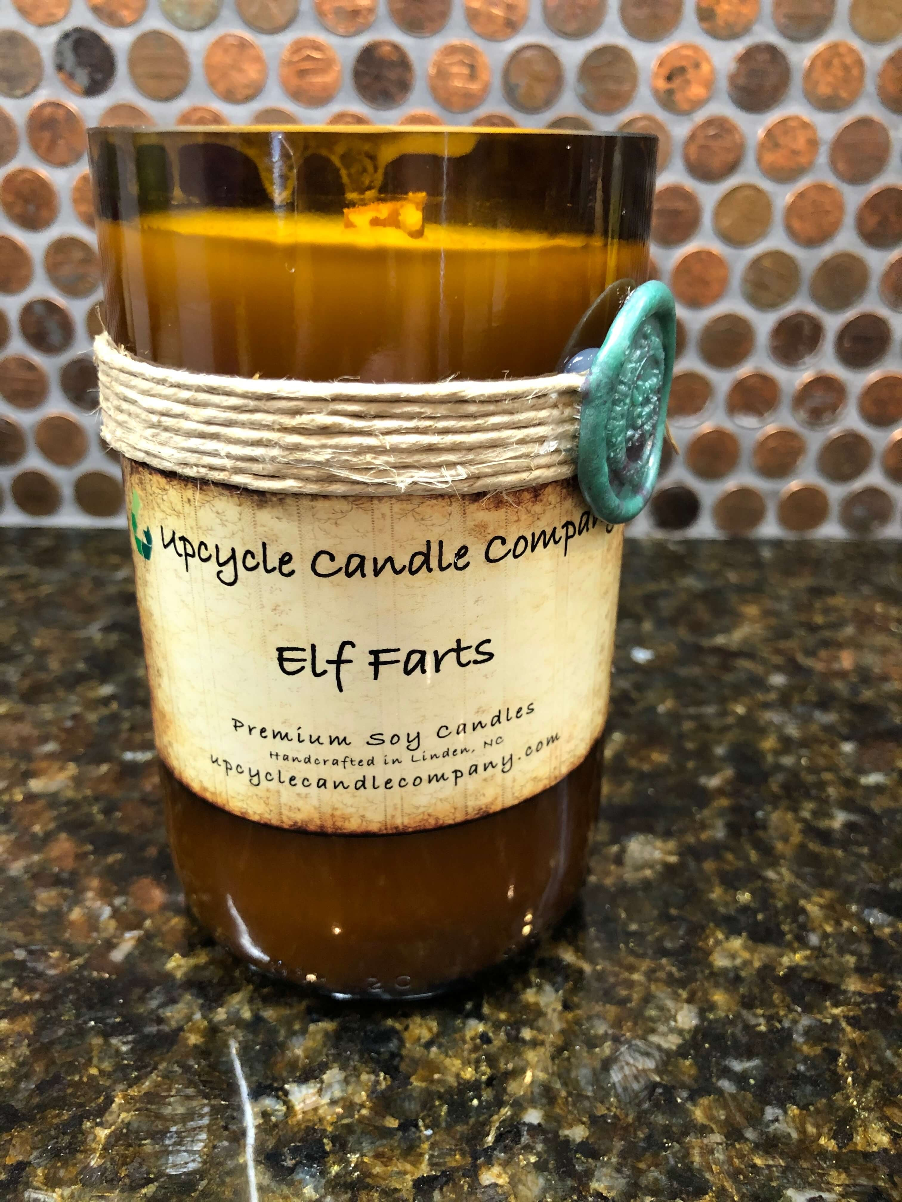 Elf Farts Natural Soy Candle