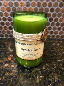 Fresh Linen Natural Soy Candle