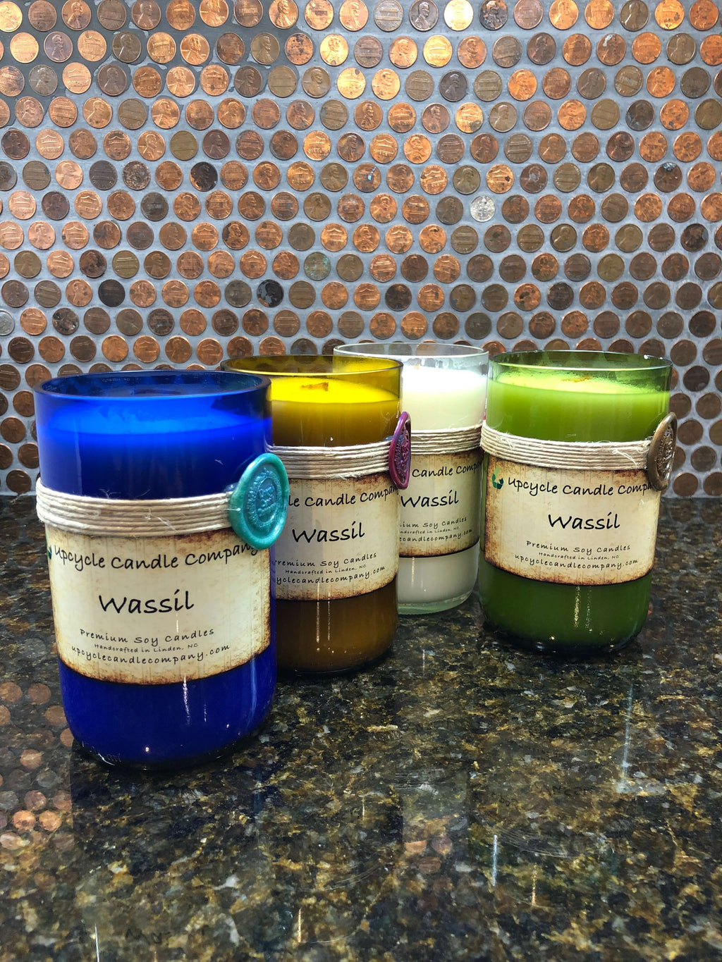 Wassil Natural Soy Candle