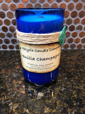 Vanilla Champagne Natural Soy Candle