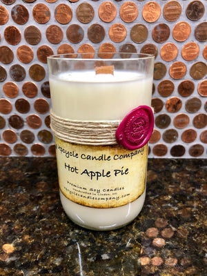 Hot Apple Pie Natural Soy Candle