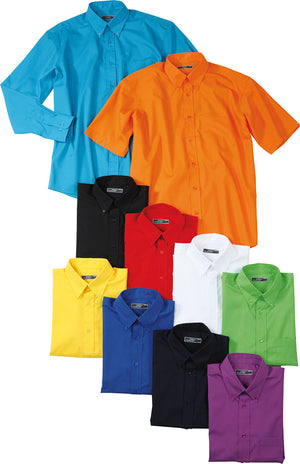 Men's Promotion Shirt Kurzarm James & Nicholson