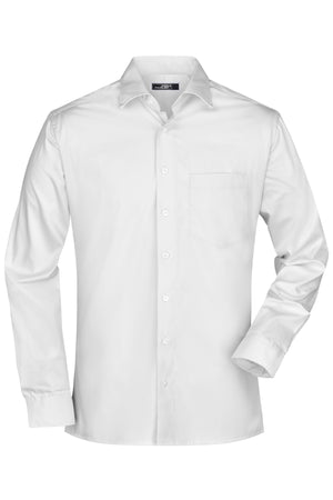 Men's Business Shirt Langarm James & Nicholson