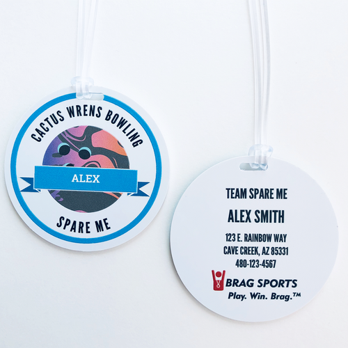 Personalized Sports Bag Tag