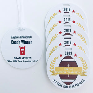 Personalized Sports Team Awards