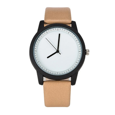 Minimalist watch Leather Strap Women - Far Far Travel