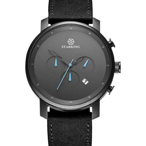 Luxury Mens Watch with Chronograph Minimalist