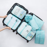 Luggage Organizer 7PCS/set Waterproof Packing Cube Portable - Far Far Travel