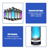Hydrogen Rich Water Bottle Generator 500ML with LED Display