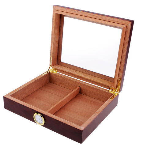 Portable Spain Cedar Cigar Wood Travel Cigar Humidor