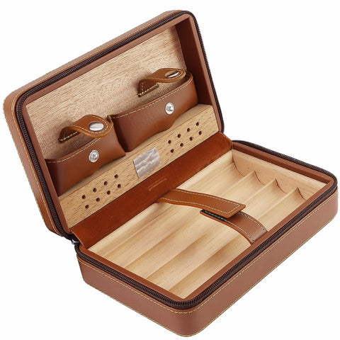 Travel Cigar Humidor Case