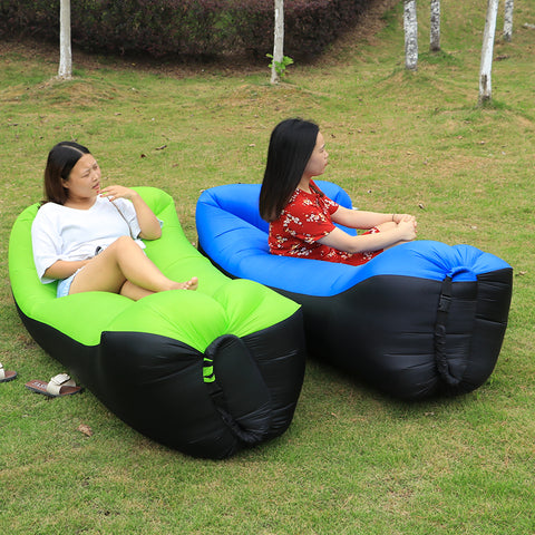 Sleeping bag camping inflatable air sofa - Far Far Travel