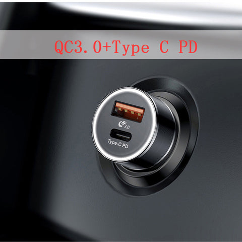Car Charger Quick Charge QC 3.0 Type C and USB - Far Far Travel