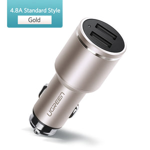 Ugreen Car Charger 2 Port 30W Quick Charge 3.0 - Far Far Travel