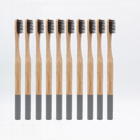 Bamboo Toothbrush 10pc pack - Far Far Travel