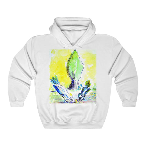 """Sparrows and Cyprus Tree"" Hoodie"
